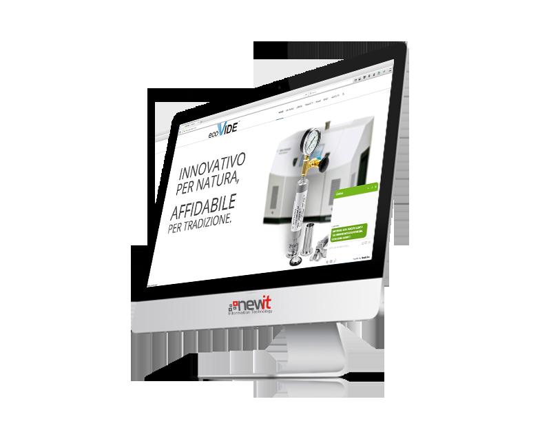 New IT - realizzazione sito web  e e-commerce per Ecovide