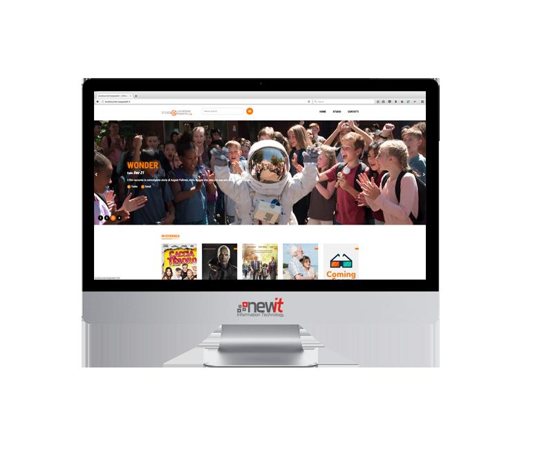 New IT - realizzazione sito web per Studio Lucherini Pignatelli
