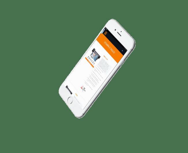 New IT - realizzazione sito web  e soluzione software per Technoprogress