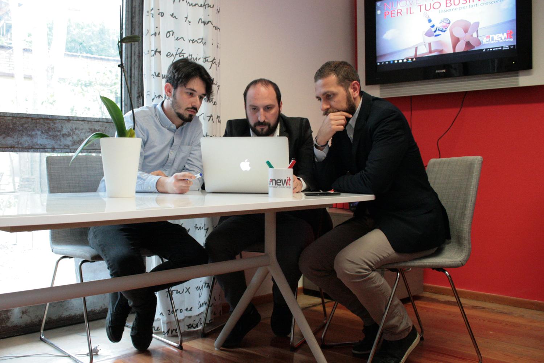 Il team di New IT soluzioni software Roma
