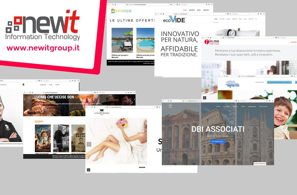 Realizziamo siti web e curiamo indicizzazione e aggiornamenti - New IT siti web Roma