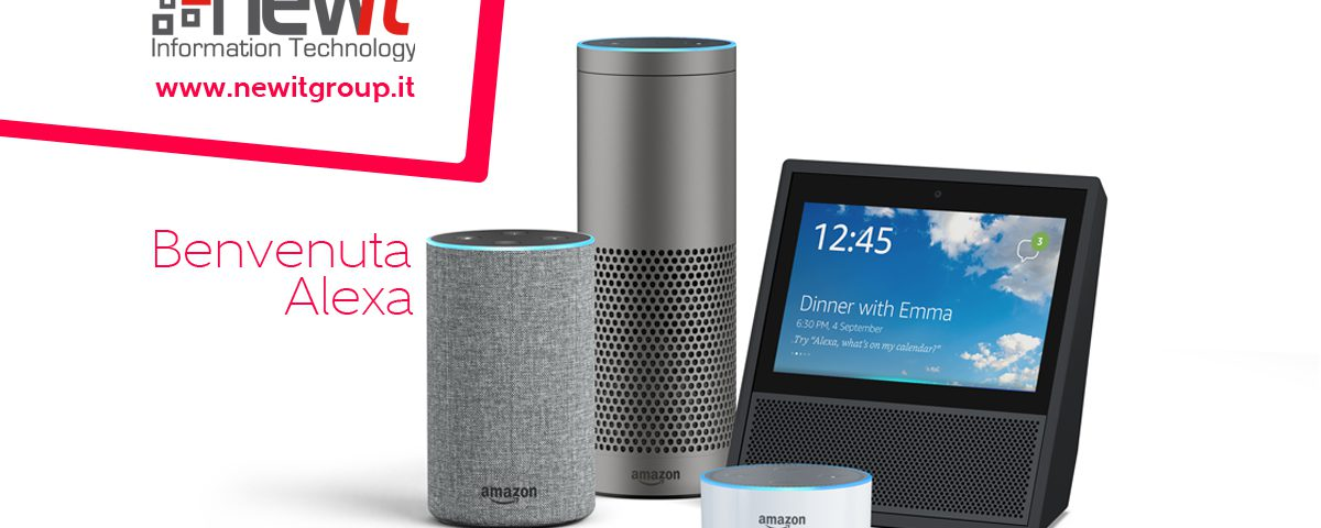 Alexa, l'assistente di Amazon, sbarca in Italia - New IT Siti web e Soluzioni Software Roma