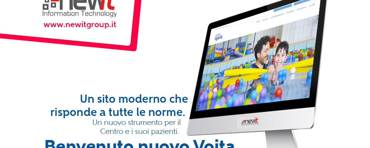 Il nuovo sito del Centro Vojta, risponde alle norme per l'accreditamento della Regione Lazio ed è GDPR compliance - New IT siti web Roma